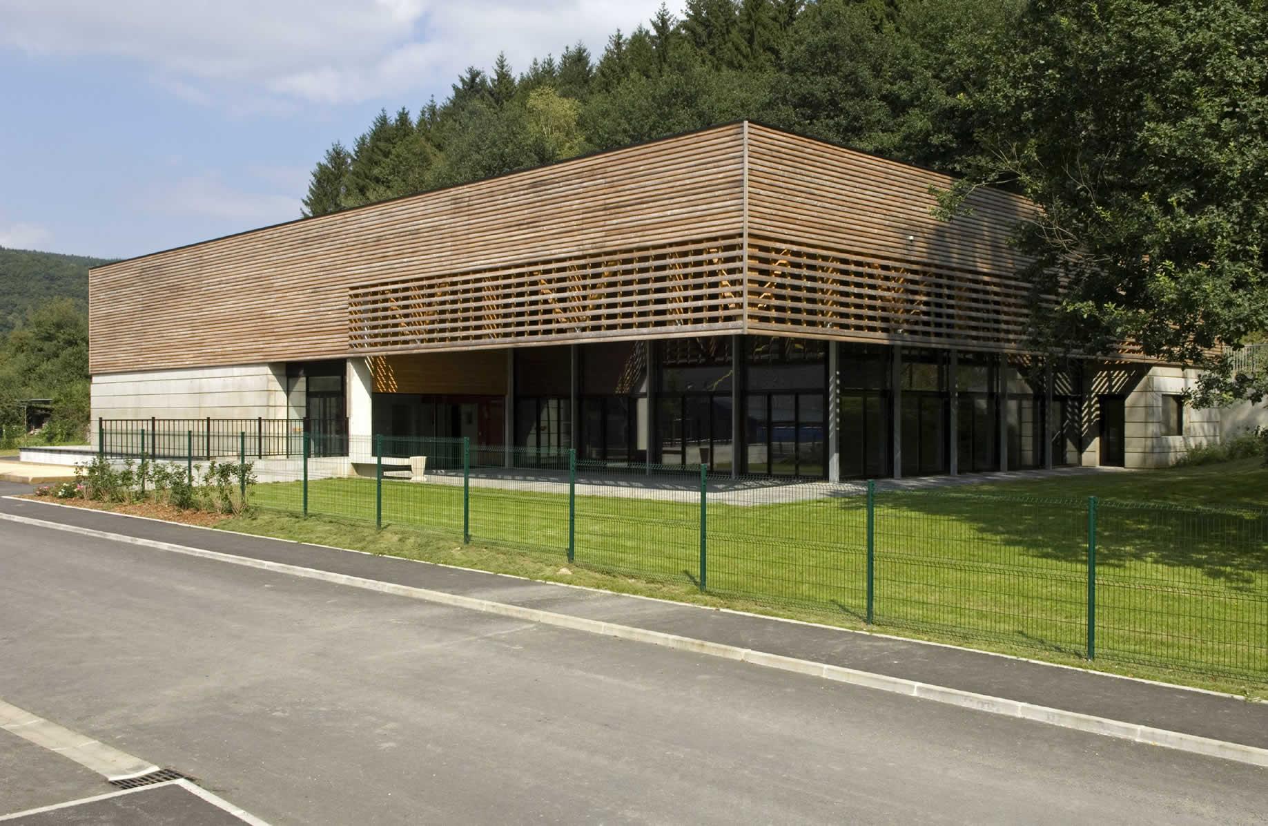 Salle polyvalente des Hautes Rivières - AMA Architectes