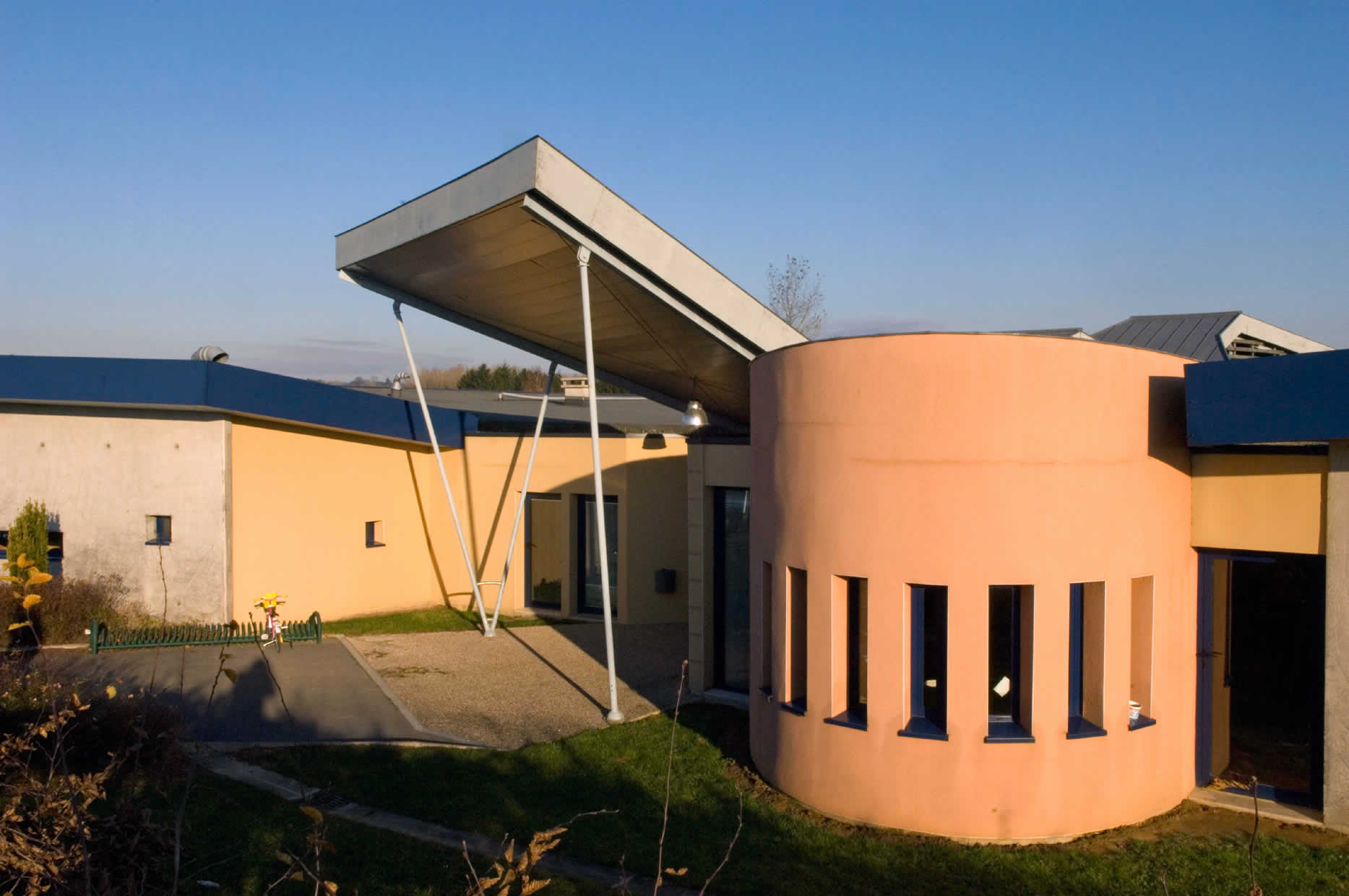 Pôle scolaire d'Auvillers les Forges - AMA Architectes