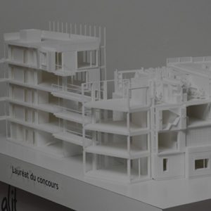 innovations impression 3d - AMA Architectes
