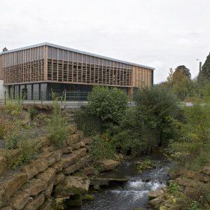 Signy l'Abbaye (Ardennes) - salle polyvalente - AMA Architectes